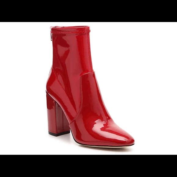 b70f57186b48d Aldo Shoes   Lovelee Patent Red Booties   Poshmark